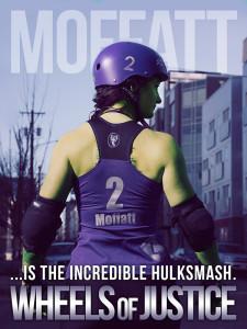 Moffatt #2 as the Incredible Hulk