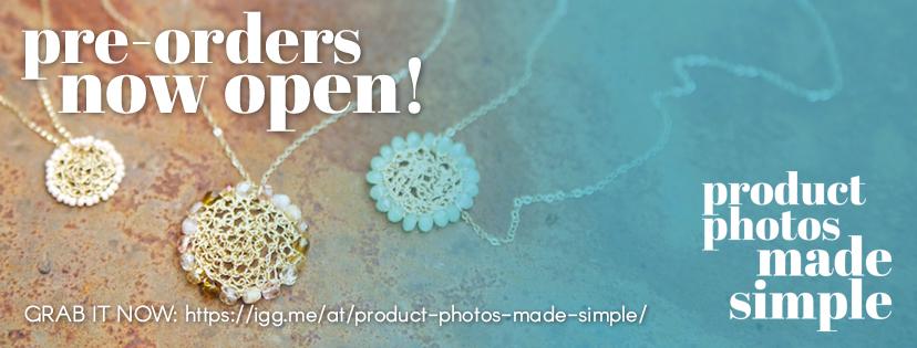 Pre-Order Product Photos Made Simple via IndieGoGo