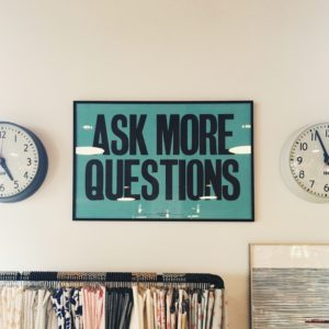 Ask More Questions image