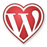 WordPress Heart Logo