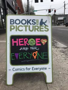 Heroes are for Everyone Sandwich Board