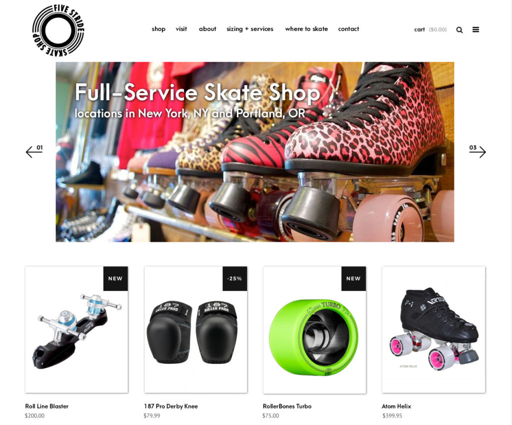 website design e-commerce portland